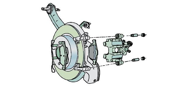 Rv 1085  Ford Brake Caliper Diagram Wiring Diagram