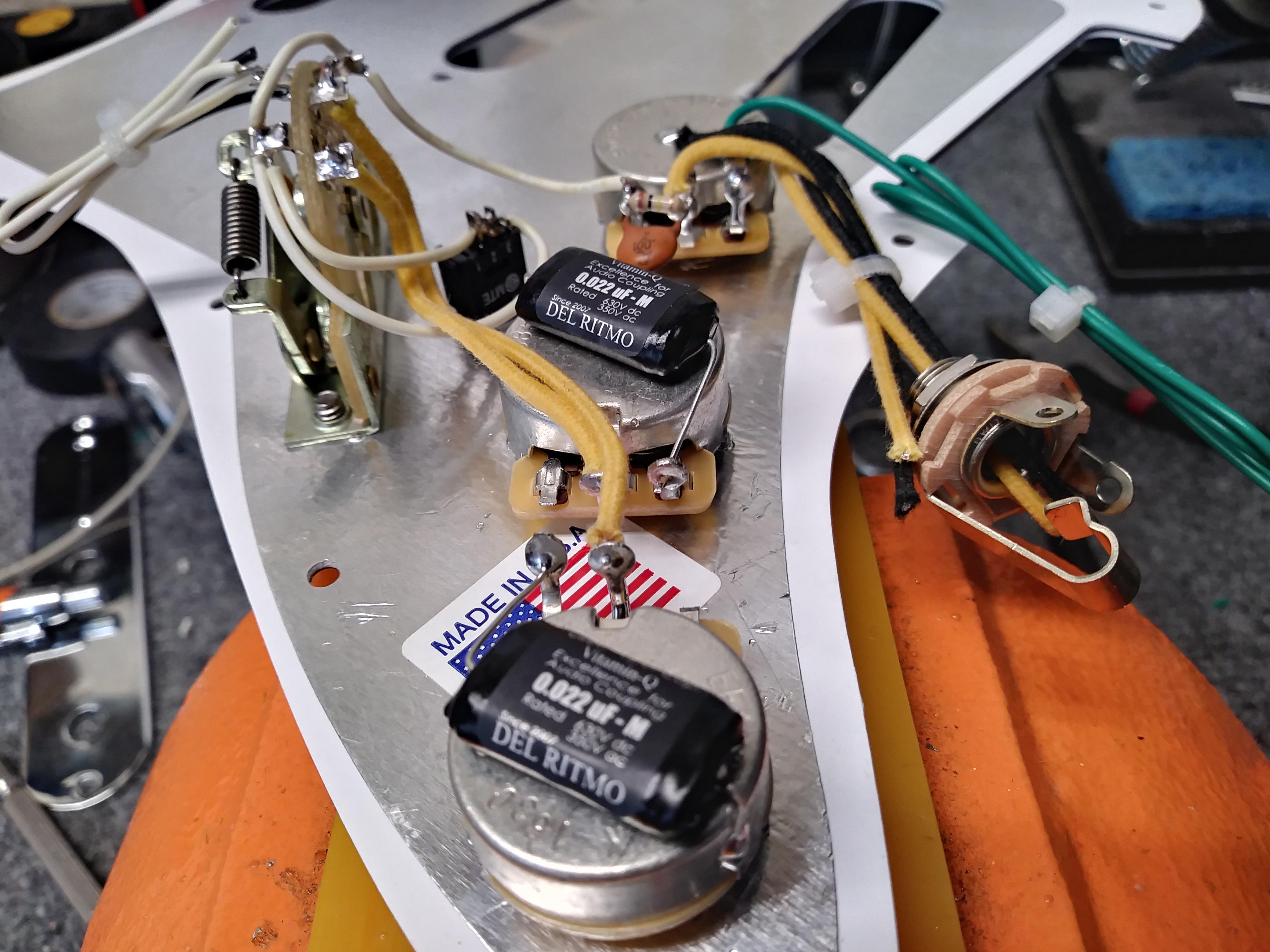 Marvelous David Gilmour Model Stratocaster Wiring Harness Hoagland Custom Wiring Cloud Biosomenaidewilluminateatxorg