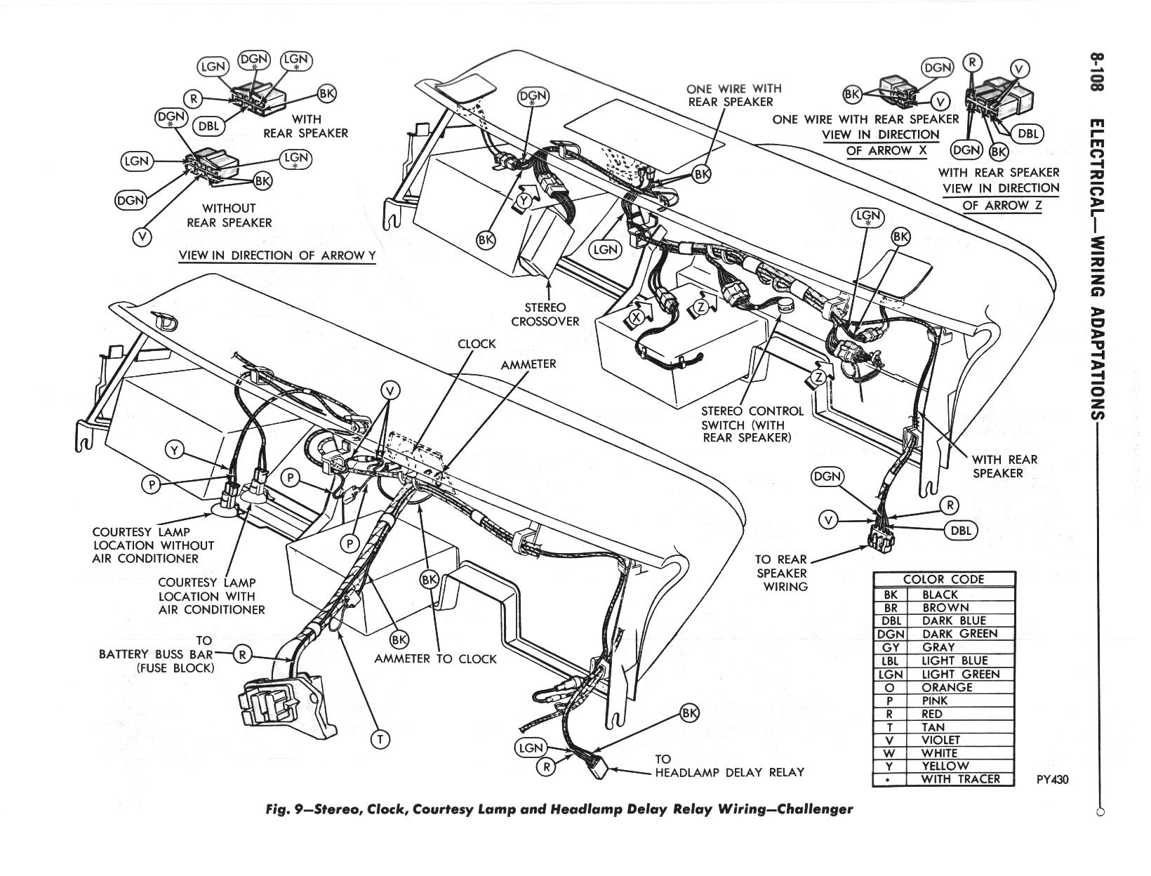 HY_3108] Dodge Challenger Wiring Harness Wiring Diagram