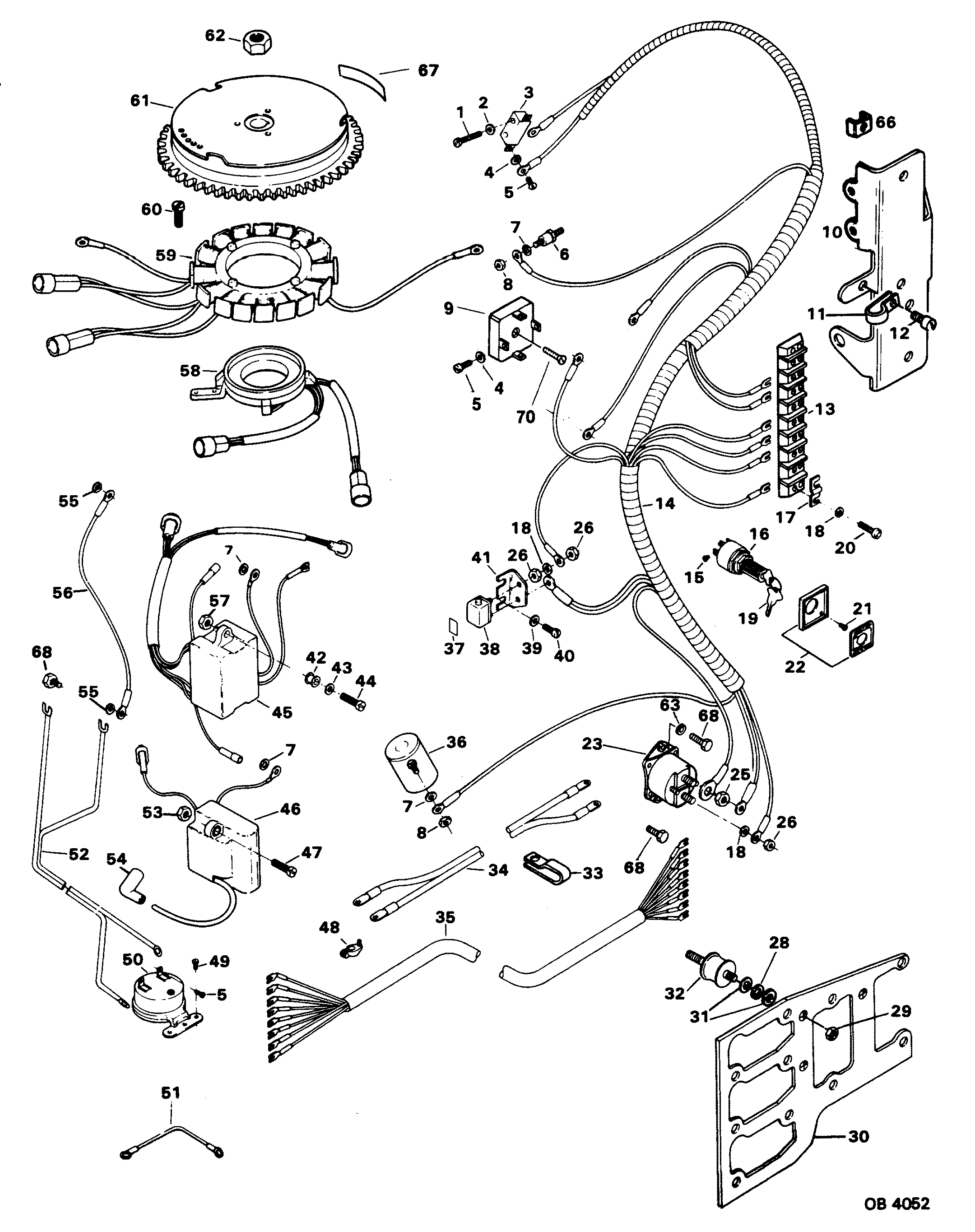 Force Outboard Motor Wiring Diagram