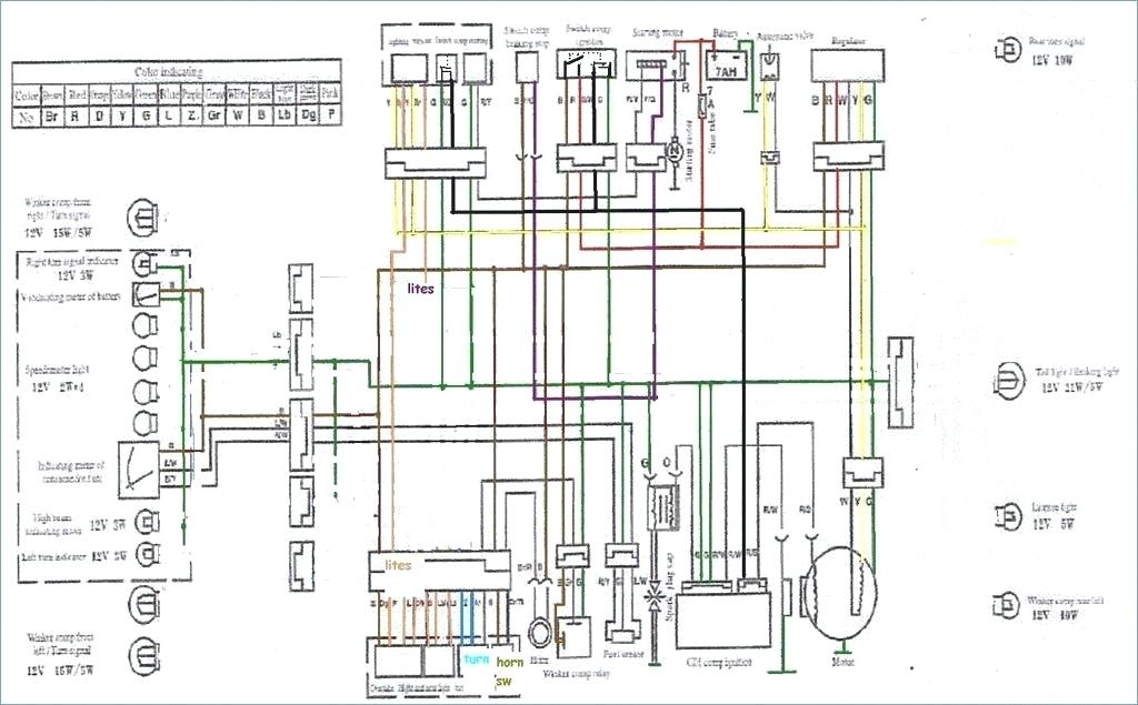 Peace Sports 50cc Scooter Wiring Diagram - Wiring Diagrams Data