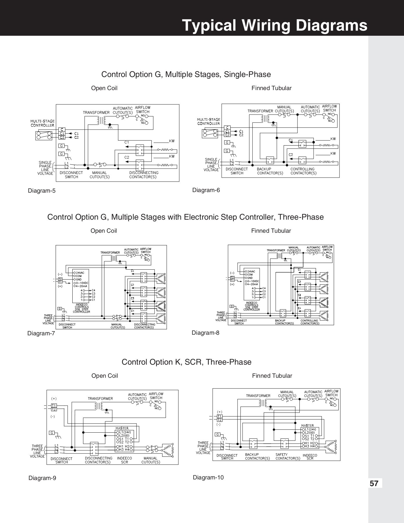 Electric Duct Heater Wiring Diagram