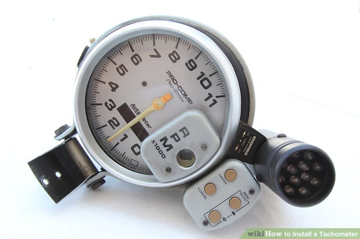 Phenomenal How To Install A Tachometer 8 Steps With Pictures Wikihow Wiring Cloud Xempagosophoxytasticioscodnessplanboapumohammedshrineorg