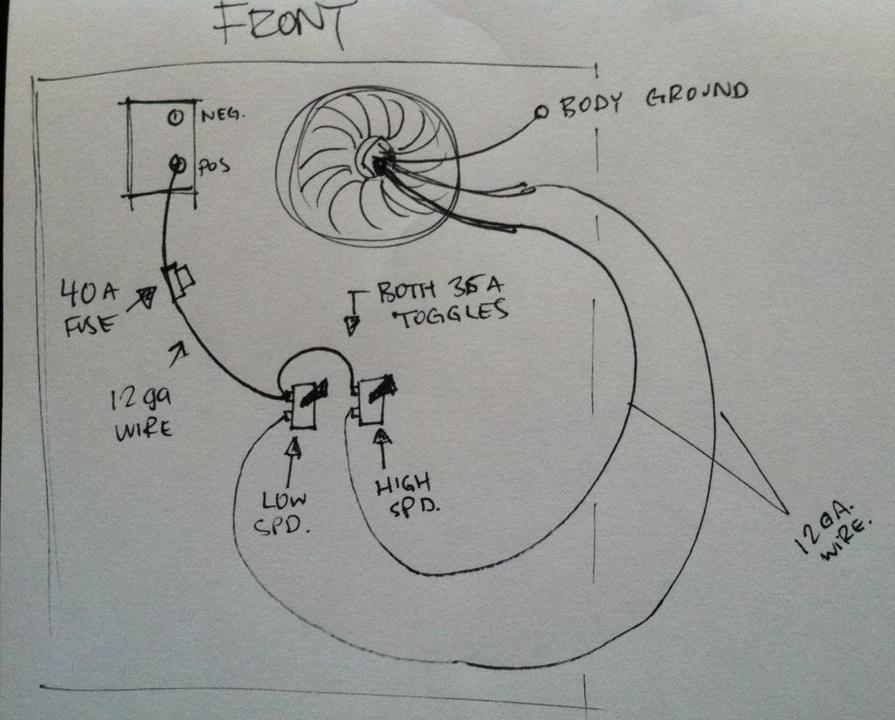 95 Mustang Fan Wiring Diagram