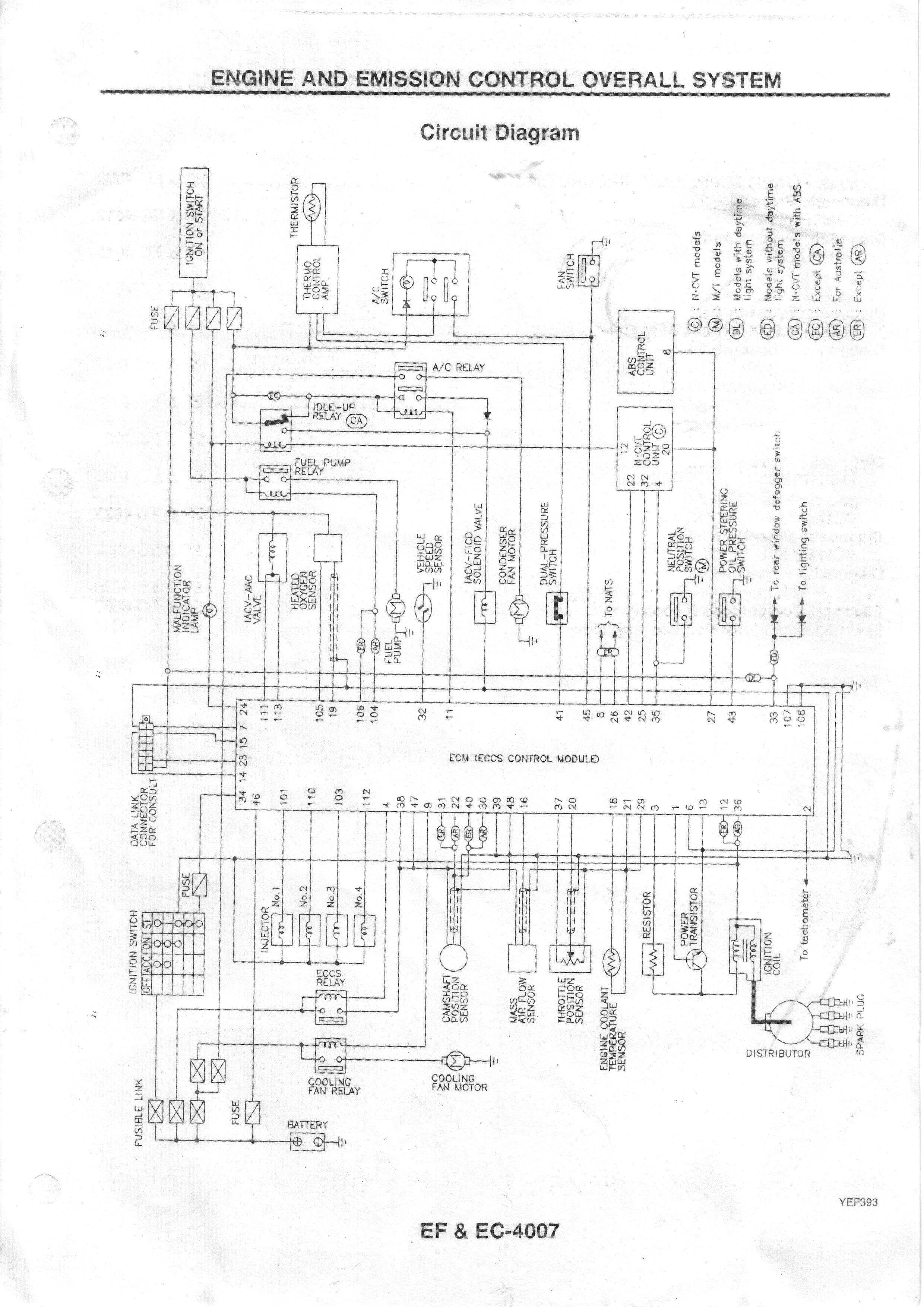 Nissan Micra Wiring Diagram K11