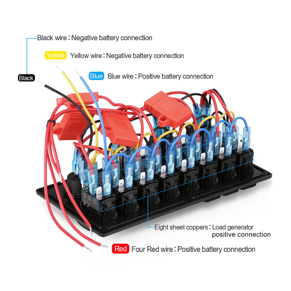 Hl 5749 Wiring Diagram Marine Switch Panel