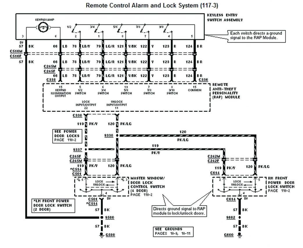 2002 Ford Explorer Alarm Wiring Diagram