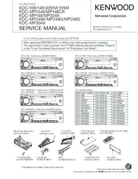 Ry 6020 Kenwood Kdc Mp242 Wiring On Kenwood Stereo Kdc Mp242