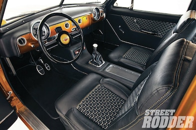 Strange 1951 Ford Coupe Interior Upgrade Hot Rod Network Wiring Cloud Rdonaheevemohammedshrineorg