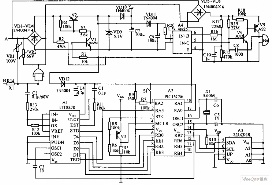 Excellent Microcomputer Telephone Cost Saving Device Circuit Diagram Wiring Cloud Inklaidewilluminateatxorg
