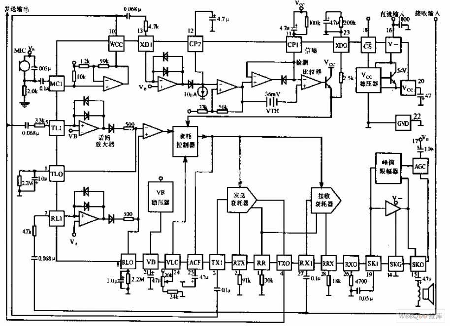 Sensational Hands Free Phone Chip Circuit Diagram Telephone Related Circuit Wiring Cloud Inklaidewilluminateatxorg