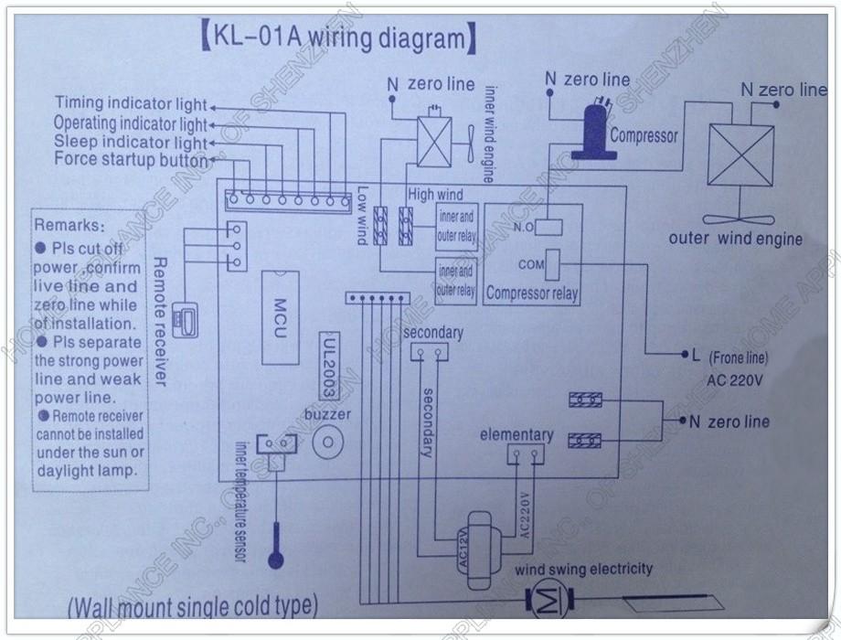Inverter Ac Compressor Wiring Diagram