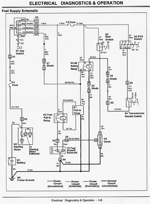John Deere 2305 Tractor Wiring Diagram
