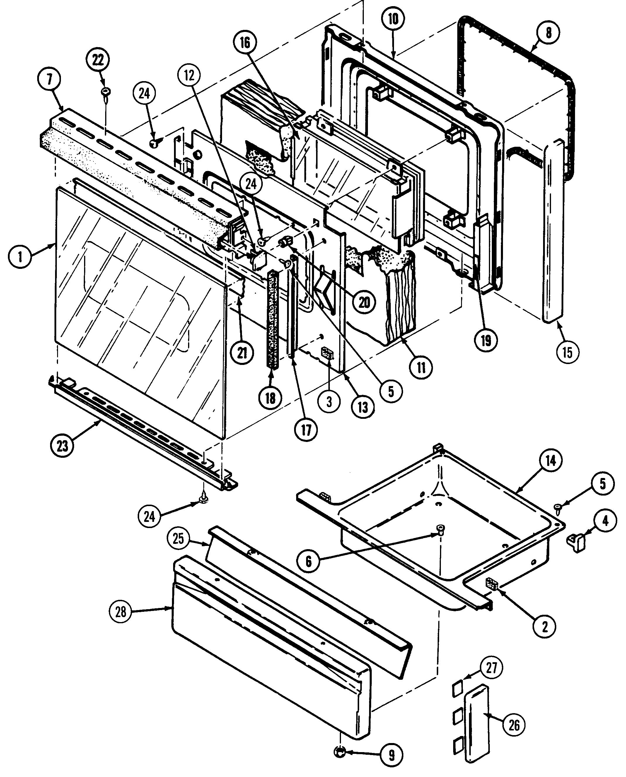 Magic Chef Cooktop Wiring Diagram