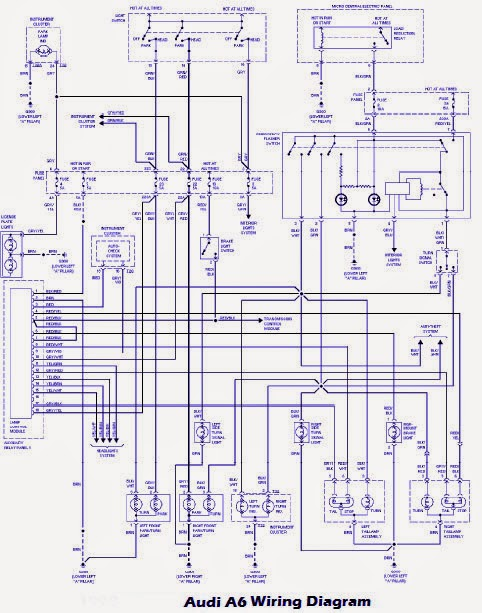 Pleasing Audi A8 Wiring Diagrams Basic Electronics Wiring Diagram Wiring Cloud Eachirenstrafr09Org