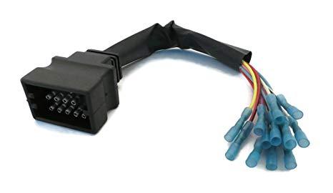 Enjoyable Amazon Com Snow Plow Wiring Harness Repair Kit Plow Side Msc04754 Wiring Cloud Icalpermsplehendilmohammedshrineorg
