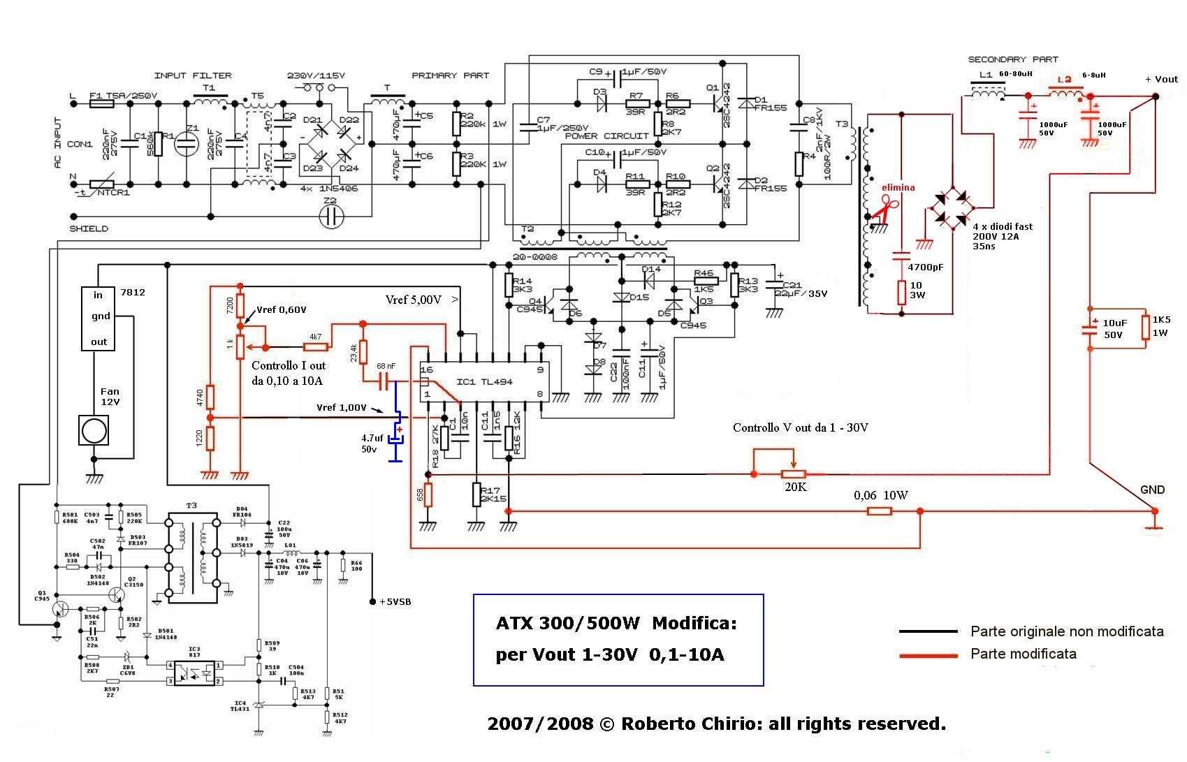 Vb 1681  Atx Smps Smps Circuit Atx Schematic Dna1005a Download Diagram