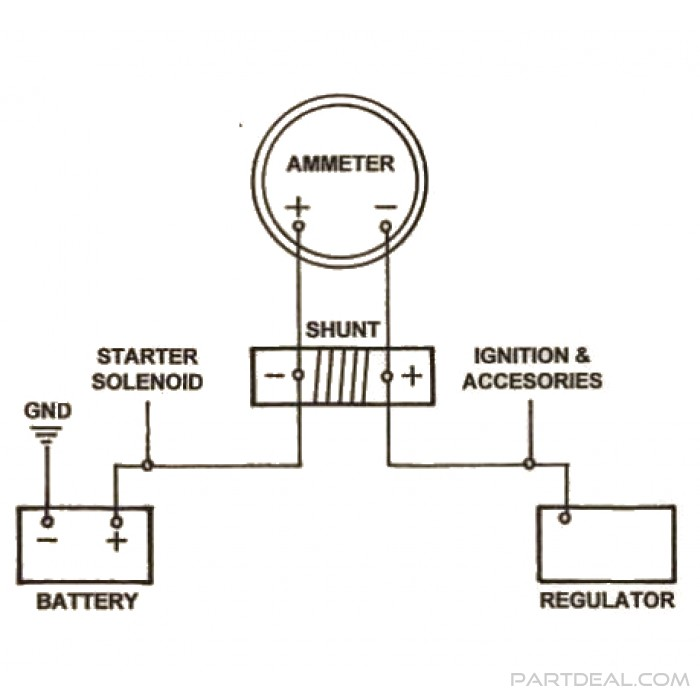 Smiths Amp Meter Wiring Diagram