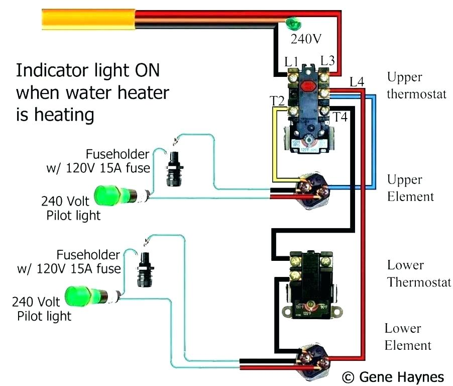 Hot Water Heater Heating Element Wiring Diagram