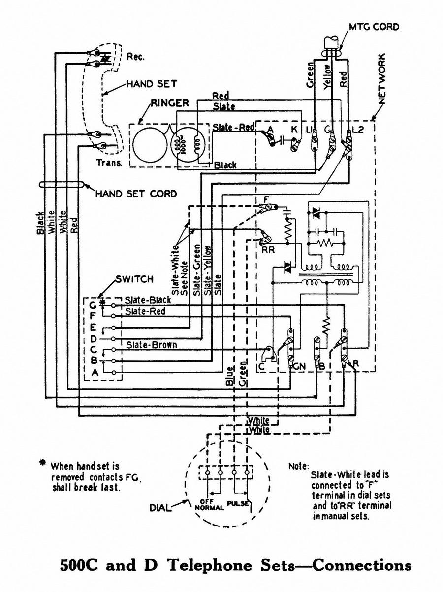 Ws 8122 Antique Wall Phone Wiring Diagram Schematic Wiring