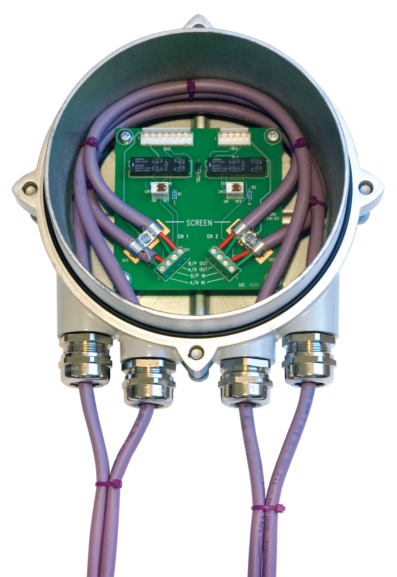 Groovy Rotork Rotork Introduces Bumpless Profibus Highway Termination Module Wiring Cloud Gufailluminateatxorg