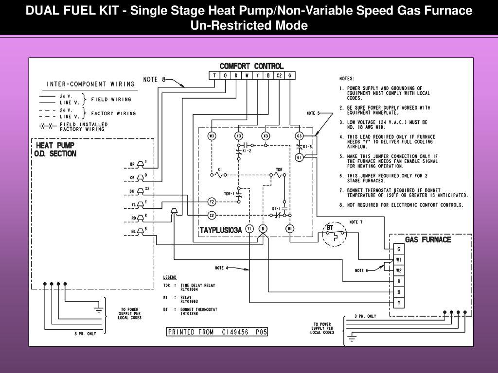 Goodman 2 Stage Furnace Wiring Diagram