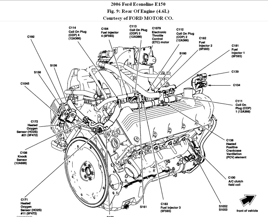 Ford 2 9 V6 Engine Diagram
