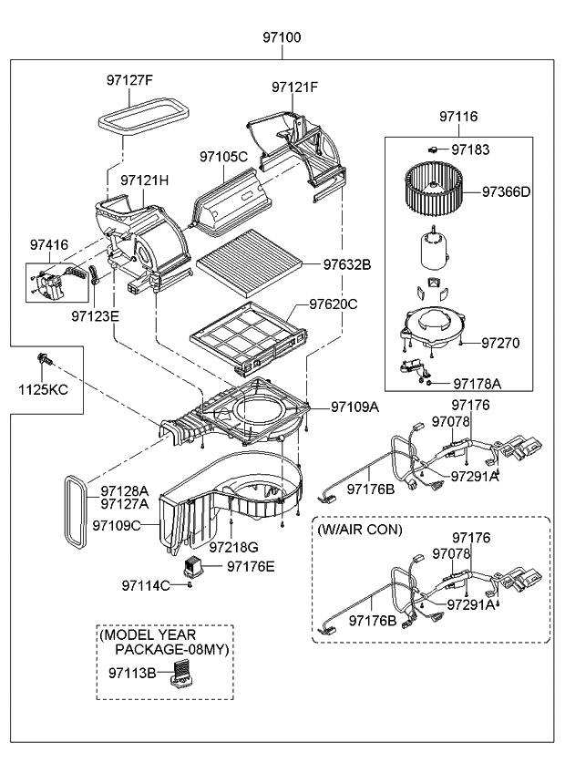 Dc 3730 2007 Kia Sportage Blower Wiring Diagram Free Diagram