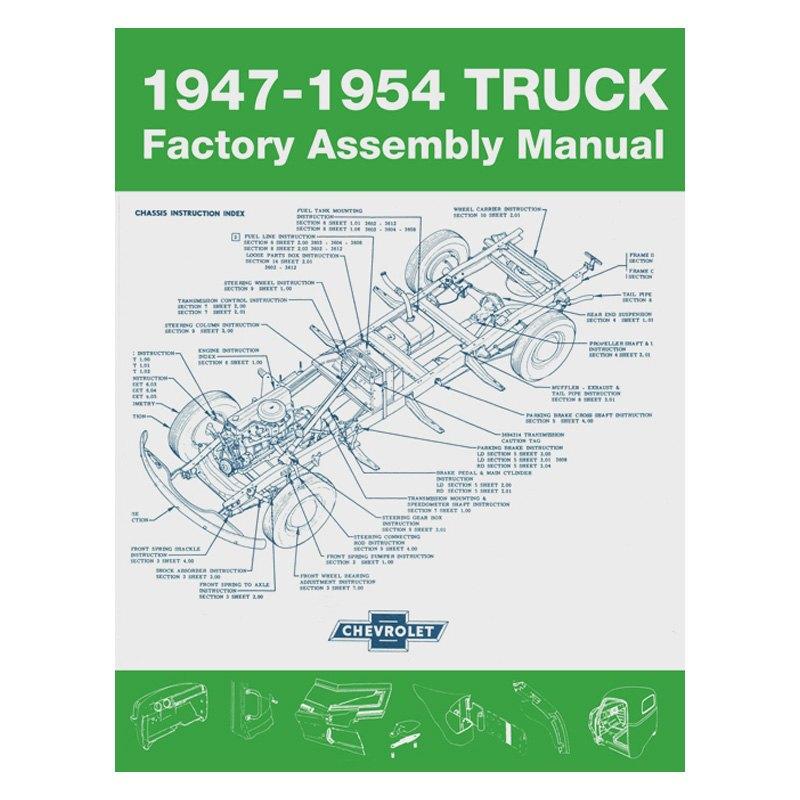 Enjoyable Detroit Iron Dprgm 74 47Tam 1947 1954 Chevrolet Truck Factory Wiring Cloud Rineaidewilluminateatxorg