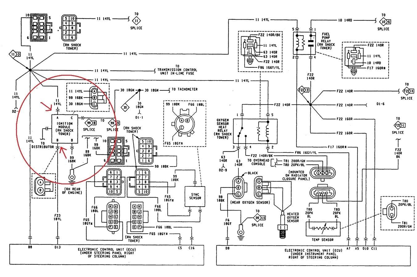 1990 Jeep Cherokee Ignition Wiring Diagram Database
