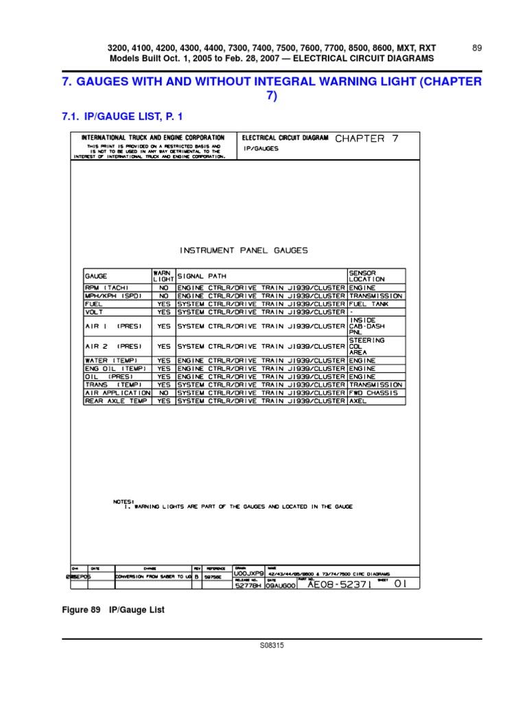 Pleasing International Body Chassis Wiring Diagrams And Info Anti Lock Wiring Cloud Gufailluminateatxorg