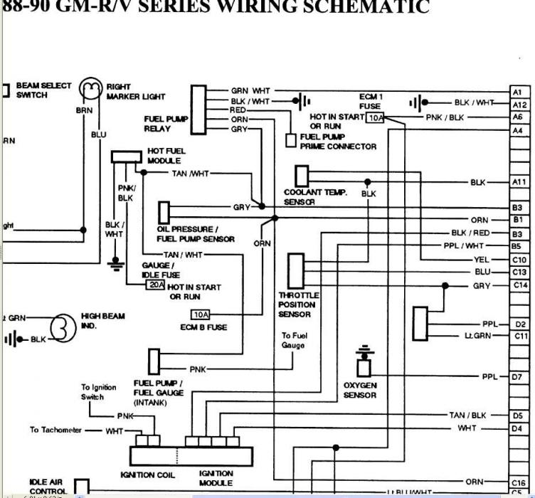 1993 gmc fuel pump wiring schematic  pioneer car speaker