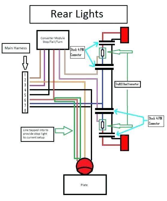 2007 Toyota Tacoma Tail Light Wiring Diagram