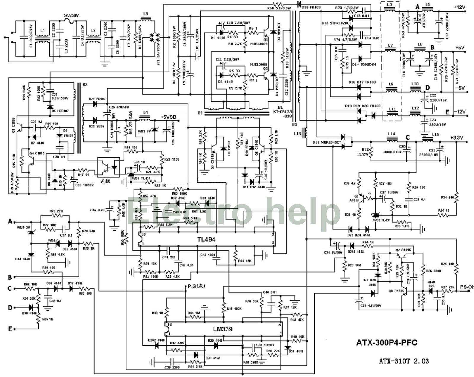 OC_6910] Atx Power Supply Circuit Also Atx Power Supply Schematic Diagram  Wiring DiagramBotse Antus Nect Rdona Scoba Mohammedshrine Librar Wiring 101