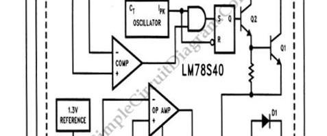 Awe Inspiring Voltage Regulator Simple Circuit Diagram Wiring Cloud Domeilariaidewilluminateatxorg