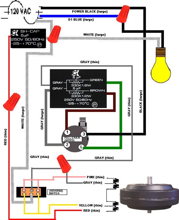 Zo 9253 Three Speed Fan Motor Wiring Schematic Download Diagram