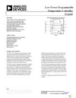Sensational Tmp01Esz Datasheet Pdf Download 14 20 Page Analog Devices Inc Wiring Cloud Rometaidewilluminateatxorg