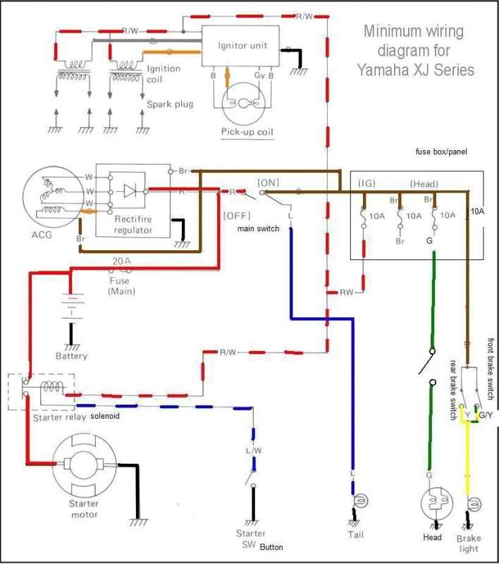 1981 Honda Cb750c Wiring Diagram