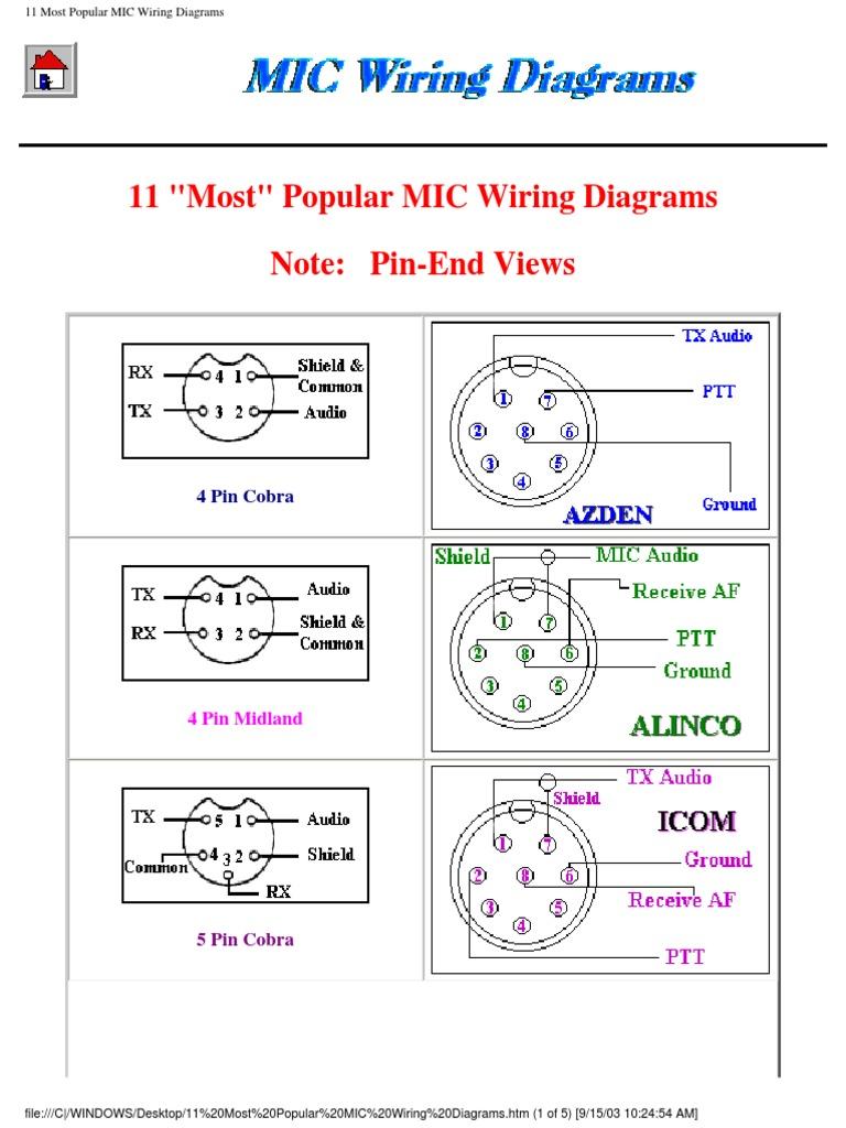 6 Pin Cb Microphone Wiring Diagram - 92 Ford F 150 Engine Bay Diagram for  Wiring Diagram SchematicsWiring Diagram Schematics