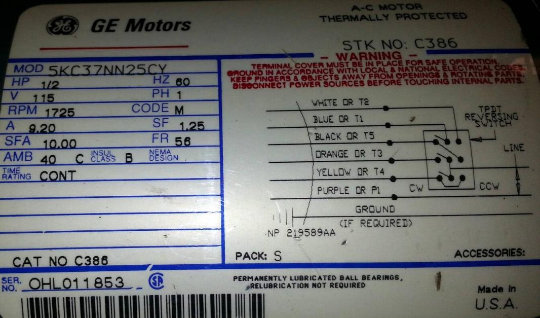 Fabulous General Electric Motors Wiring Diagram Basic Electronics Wiring Wiring Cloud Uslyletkolfr09Org
