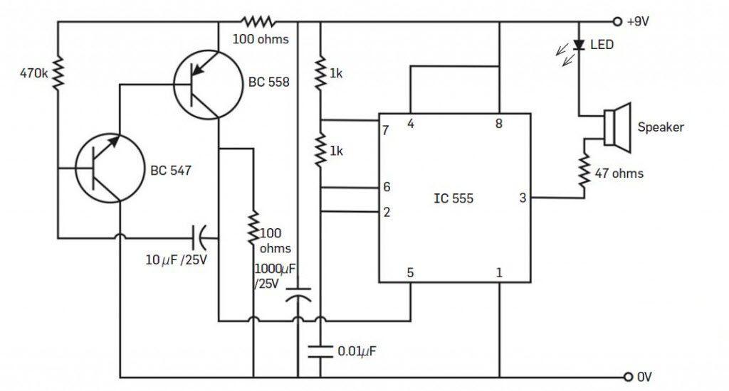 Stupendous Electronic Pest Repellent Circuit Basic Electronics Wiring Diagram Wiring Cloud Icalpermsplehendilmohammedshrineorg