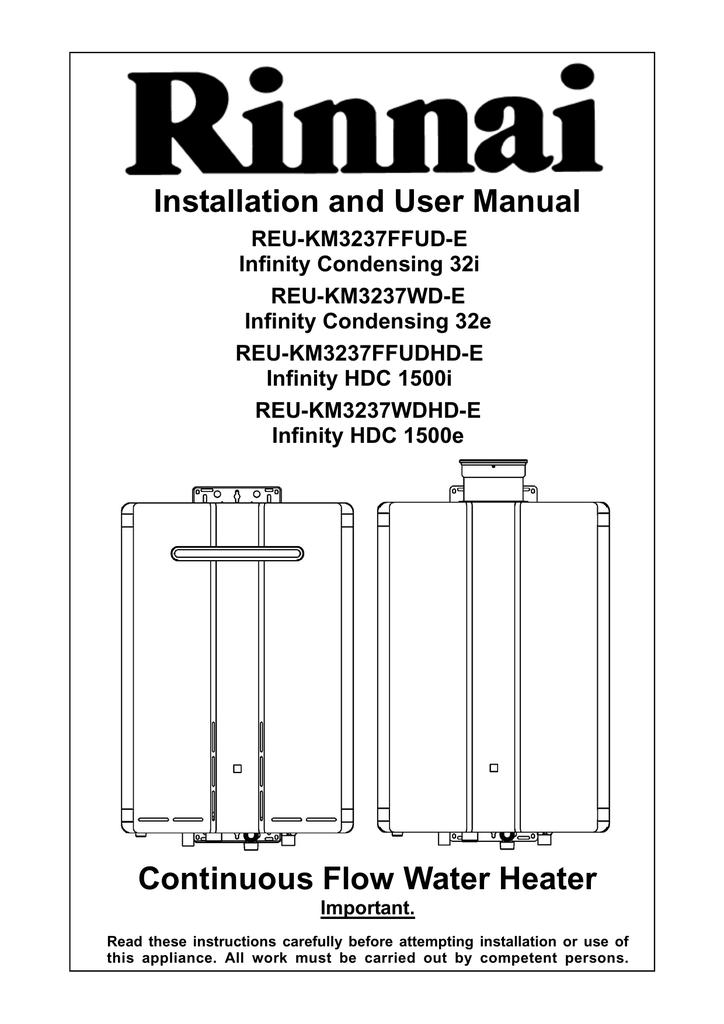 Sensational Rinnai Hdc1500E Installation Manual In Pdf Format Manualzz Com Wiring Cloud Ymoonsalvmohammedshrineorg