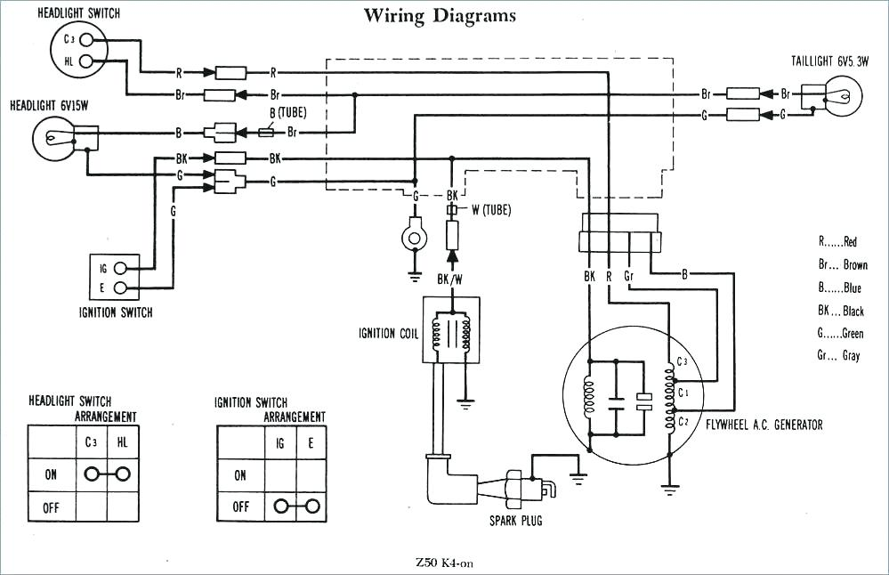 Honda Monkey Bike Wiring Diagram