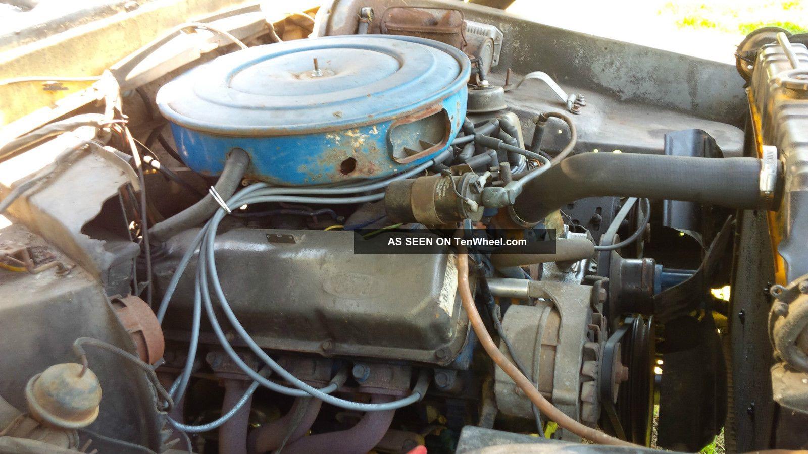1977 Ford 400 V8 Engine Diagram