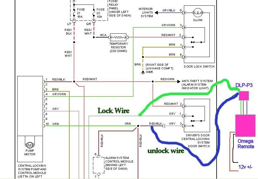 HX_6385] Vw Golf Mk4 Central Locking Wiring Diagram Schematic Wiring