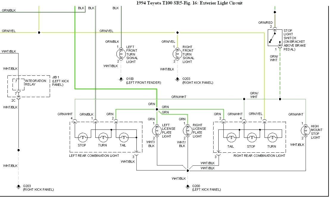 Nf 2323 95 Ford F 250 Radio Wiring Diagram Wiring Diagram