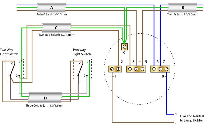Cool One Way Lighting Wiring Diagram Basic Electronics Wiring Diagram Wiring Cloud Ittabisraaidewilluminateatxorg