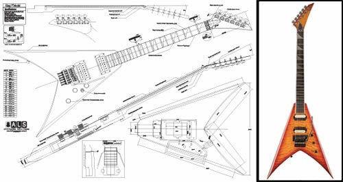 Jackson Electric Guitar Wiring Diagram