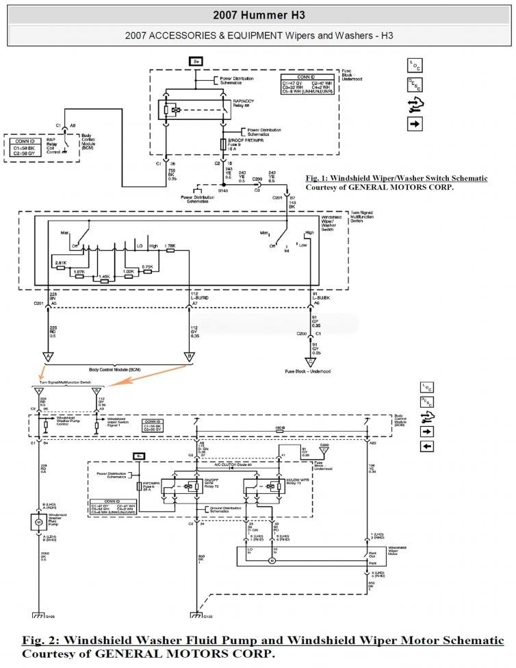 Gz 6846 Wiring Diagram For H3 Hummer