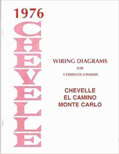 Terrific 1976 Wiring Diagram Manual Chevelle El Camino Malibu Monte Carlo Wiring Cloud Histehirlexornumapkesianilluminateatxorg